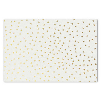 Gold Triangle Confetti Tissue Paper