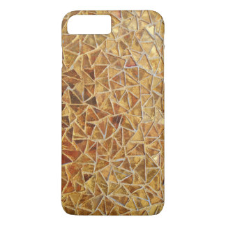 Gold triangle mosaic Case-Mate iPhone case