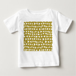 Gold Triangle Mustard Yellow Olive / Andrea Lauren Baby T-Shirt