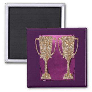 Gold TROPHY : Award Reward Celebration Magnet