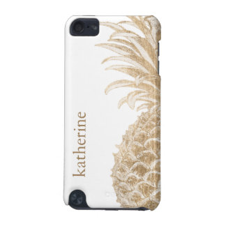 Gold Tropical Pinneapple iPod Touch (5th Generation) Covers
