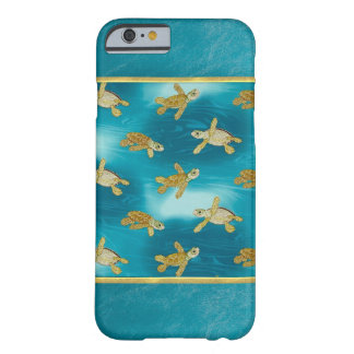 Gold Turtles Cool iPhone 6 Case