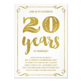 20 year anniversary cards