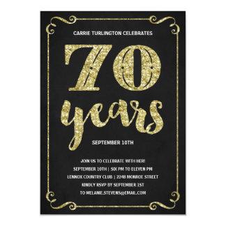 70Th Birthday Invite Templates for amazing invitation sample