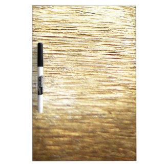Gold Vermeil Dry Erase Board
