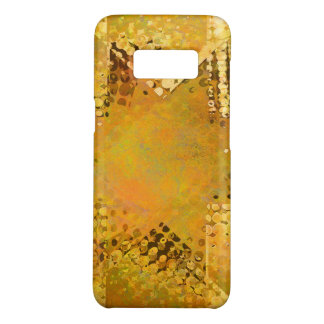 Gold vintage halftone star Case-Mate samsung galaxy s8 case