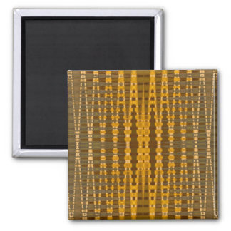 gold visions square magnet