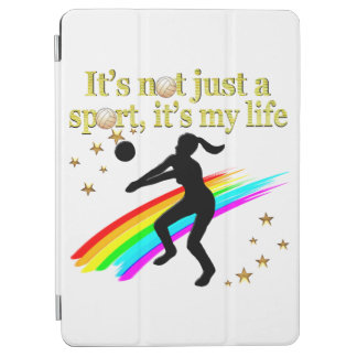 GOLD VOLLEYBALL IS MY LIFE DESIGN iPad AIR COVER