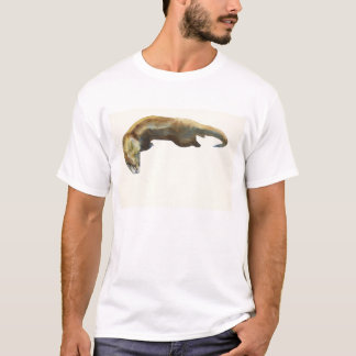 Gold watercolour on paper T-Shirt