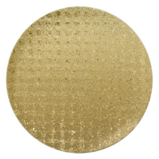 Gold wedding elegant dinnerware plates