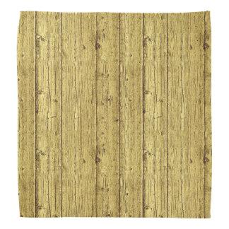 Gold Wood Bandana