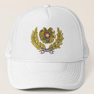 Gold Wreath Armenian Coat of Arms Trucker Hat