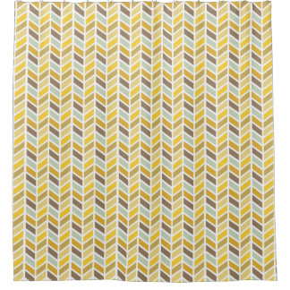 Gold, Yellow, Brown Herringbone Pattern Design