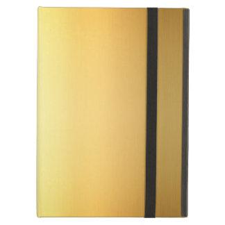 Gold Yellow Color Gradient Art, iPad Air Case