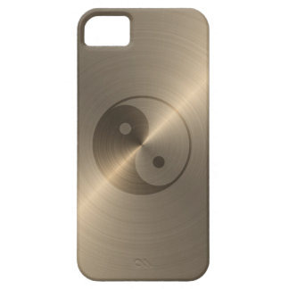 Gold Yin Yang iPhone 5 Cases