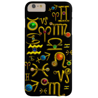 GOLD ZODIAC BIRTHDAY JEWELS,GEMSTONES,ASTROLOGY BARELY THERE iPhone 6 PLUS CASE