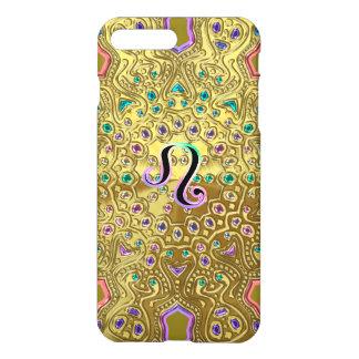 Gold Zodiac Sign Leo Mandala iPhone 8 Plus/7 Plus Case