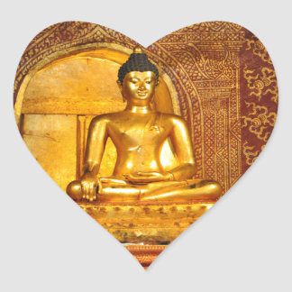 goldbudha_front.JPG Heart Sticker