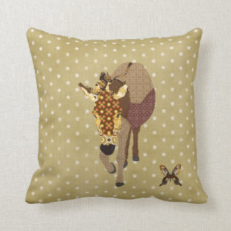 Golddust Moses & Butterfly Star Mojo Pillow