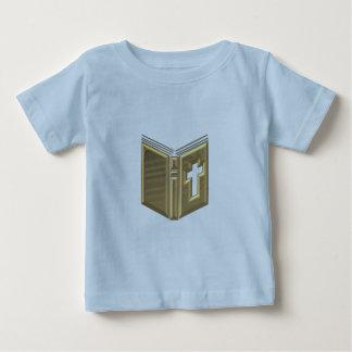 """Golden """"3-D"""" Bible / Prayerbook / Hymnal Shirts"""