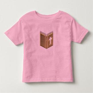 """Golden """"3-D"""" Bible / Prayerbook / Hymnal T Shirt"""