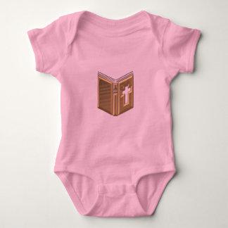 """Golden """"3-D"""" Bible / Prayerbook / Hymnal Tee Shirt"""