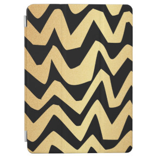Golden abstract stripes iPad Air Smart Cover iPad Air Cover