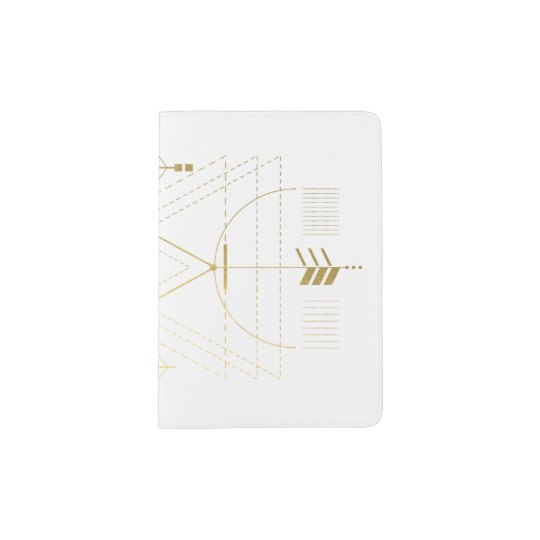 Golden Alchemy Sacred Geometry Passport Holder