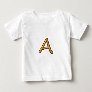 Golden Alphabet A AA AAA : Vintage Base Tee Shirts