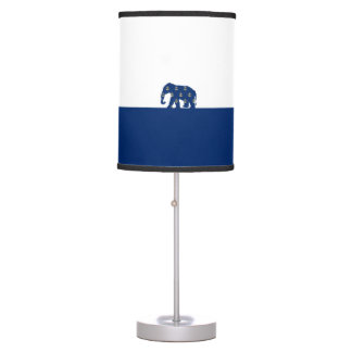 Golden Anchors Elephant On the Road Desk Lamp