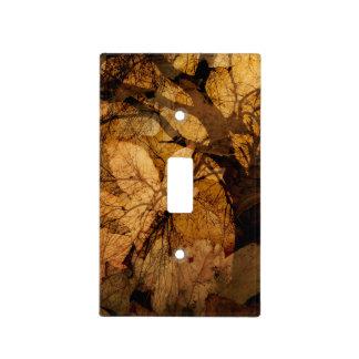 Golden and Brown Leaves | Merritt Island, FL Light Switch Cover