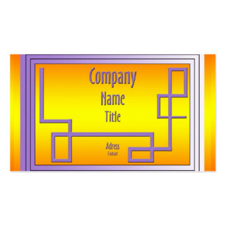 Golden and the pipeline pack of standard business cards