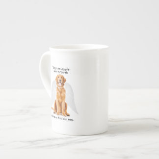 Golden Angel Bone China Mug