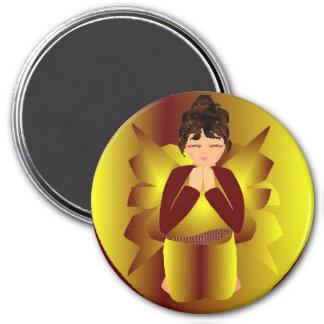 Golden Angel Fridge Magnets