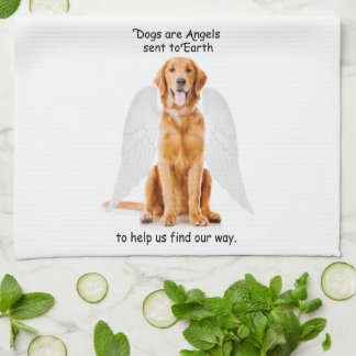 Golden Angel Kitchen Towel
