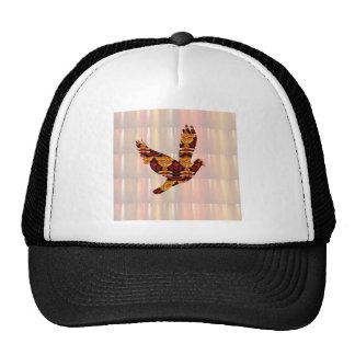 Golden ANGEL on Feathers ANGEL BIRD Goodluck gift Trucker Hat