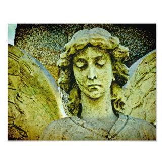Golden Angel Photo Print