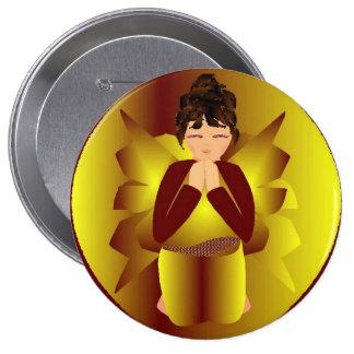 Golden Angel Pin
