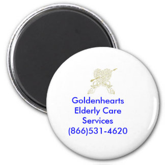golden angels, Goldenhearts Elderly Care Servic... Magnet