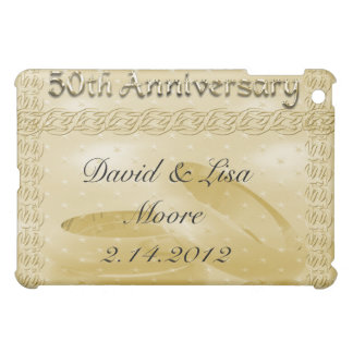 Golden Anniversary Bands Of Love Set Cover For The iPad Mini
