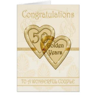 Golden Anniversary Card 50 Years