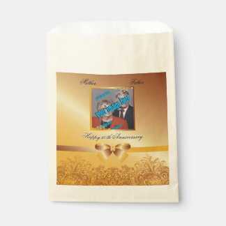 Golden Anniversary Favour Bag