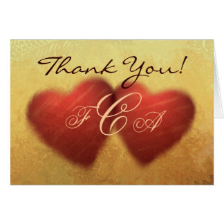 Golden Anniversary Thank You Cards