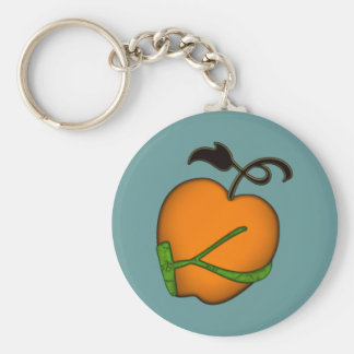 Golden Apple of Eris Keychain