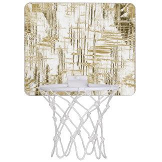 Golden Art Deco Mini Basketball Hoop