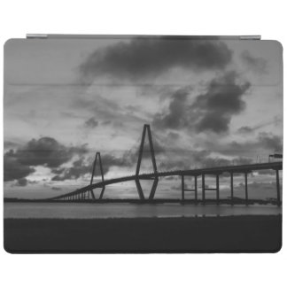 Golden Arthur Ravenel Pano Grayscale iPad Cover