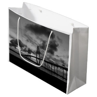 Golden Arthur Ravenel Pano Grayscale Large Gift Bag