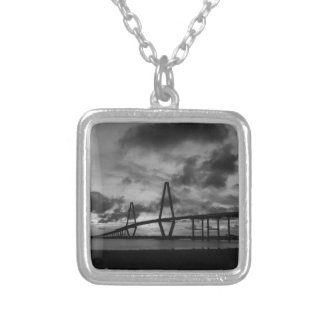 Golden Arthur Ravenel Pano Grayscale Silver Plated Necklace