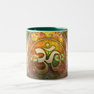 Golden Aum / Om Dreams Mug