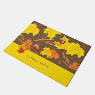 Golden Autumn Doormat